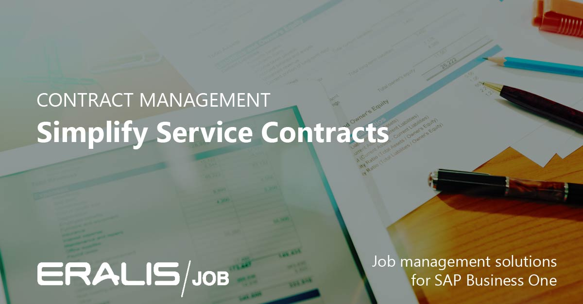 Simplify Service Contract Management With Eralis Job